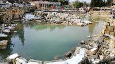 """بسبب """"NORMA""""...المياه تعود وتتدفق في بحيرة البياضة بعد جفاف استمر لأكثر من سنتين!"""