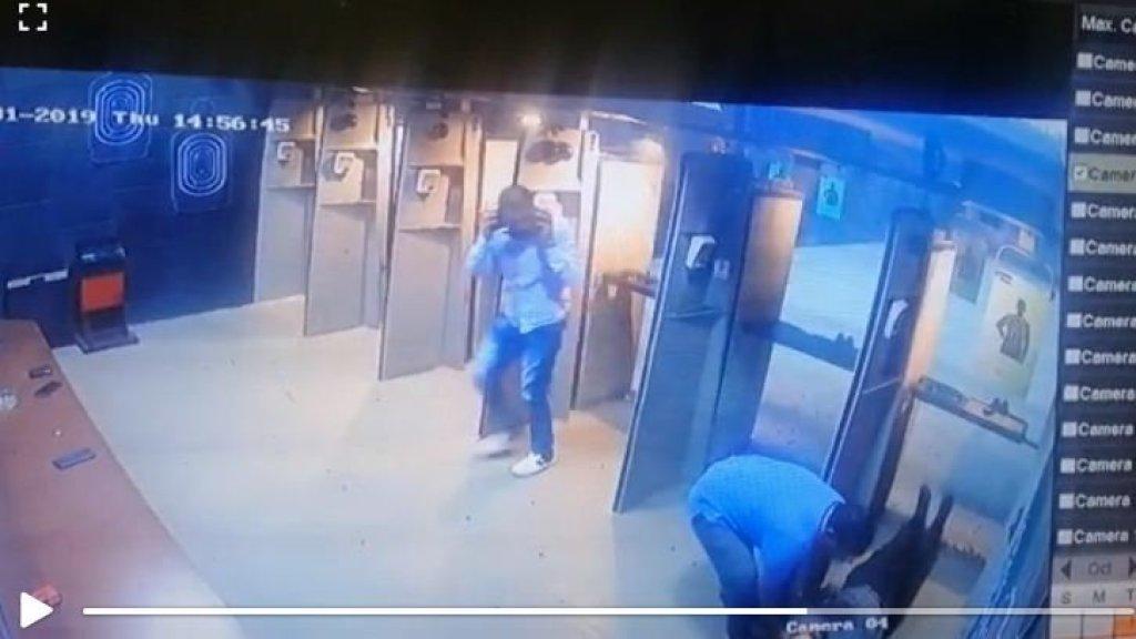 """قوى الأمن توضح حقيقة فيديو متداول عبر واتساب يوثق إصابة شخص بطلق ناري في نادٍ للرماية: """"الحادثة لم تحصل في لبنان"""""""