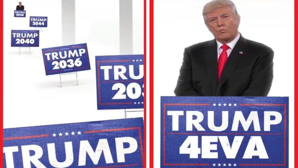 """""""ترامب 2024..2088..3000..إلى الأبد""""...الرئيس الأميركي ينشر فيديو مدته 30 ثانية في أول تعليق له بعد تبرئته في مجلس الشيوخ"""