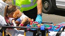 حادثة مؤسفة أدخلت الطفلة قمر ابنة كترمايا إلى المستشفى بعدما التف حبلٌ حول عنقها!