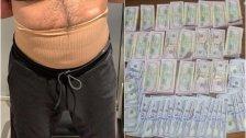حاولا تهريب حوالي 114000 دولار أمريكي مزيف من لبنان الى تركيا...الاموال ملصقة بوسط جسم أحدهما وداخل كمية من الخبز في إحدى حقائبهما!