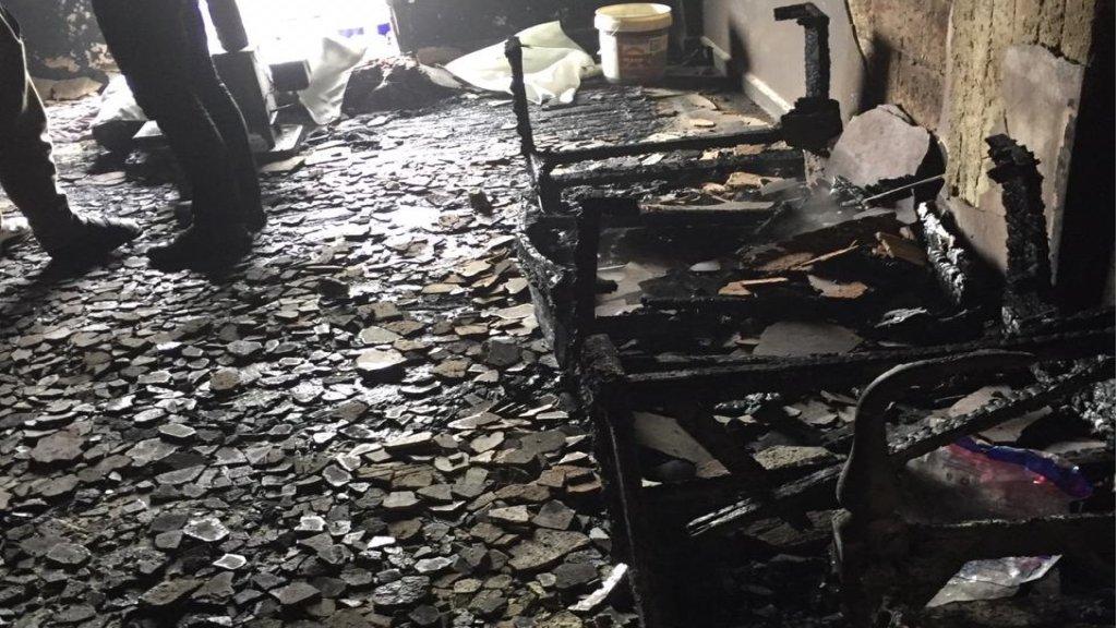 مأساة في عكار... مقتل طفلين سوريين باندلاع حريق  في منزل في بلدة التليل