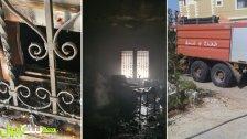 بالصور/ الدفاع المدني التابع لمركز بنت جبيل يخمد حريقاً شب داخل منزل مواطن في بنت جبيل...والأضرار اقتصرت على الماديات
