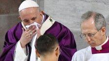 """""""البابا فرنسيس"""" يعاني من """"رشحٍ"""" عادي...ولا صحة للشائعات التي تحدثت عن إصابته بـ """"كورونا""""!"""