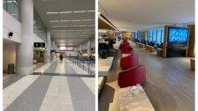 بالصور/ إلغاء العديد من الرحلات من وإلى مطار بيروت...والمطار شبه خالٍ!
