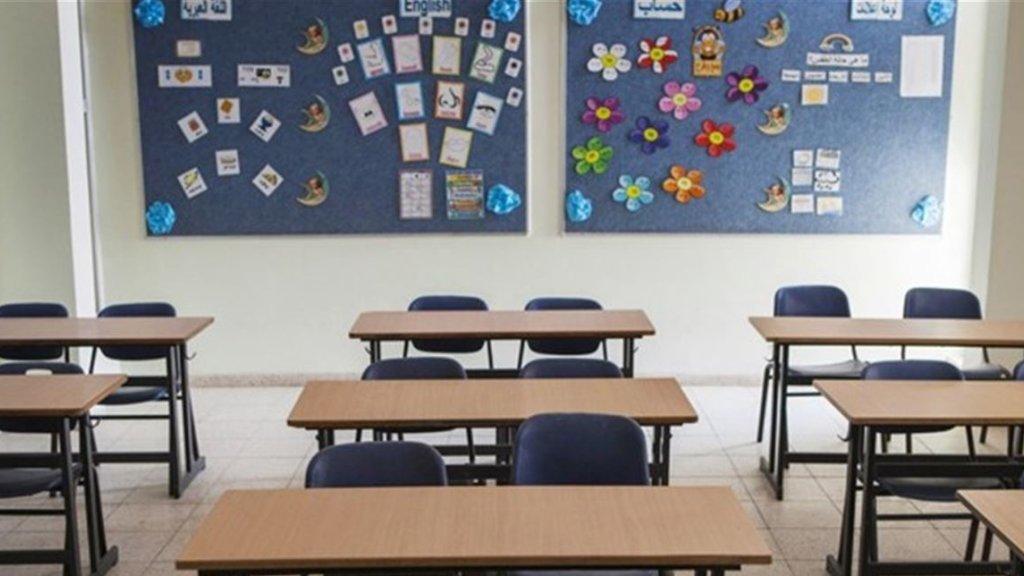 وزارة التربية تعلن إستمرار تعليق الدروس في كل المؤسسات التعليمية حتى مساء الاحد 22 آذار 2020 واستكمال اعداد برامج طوارىء