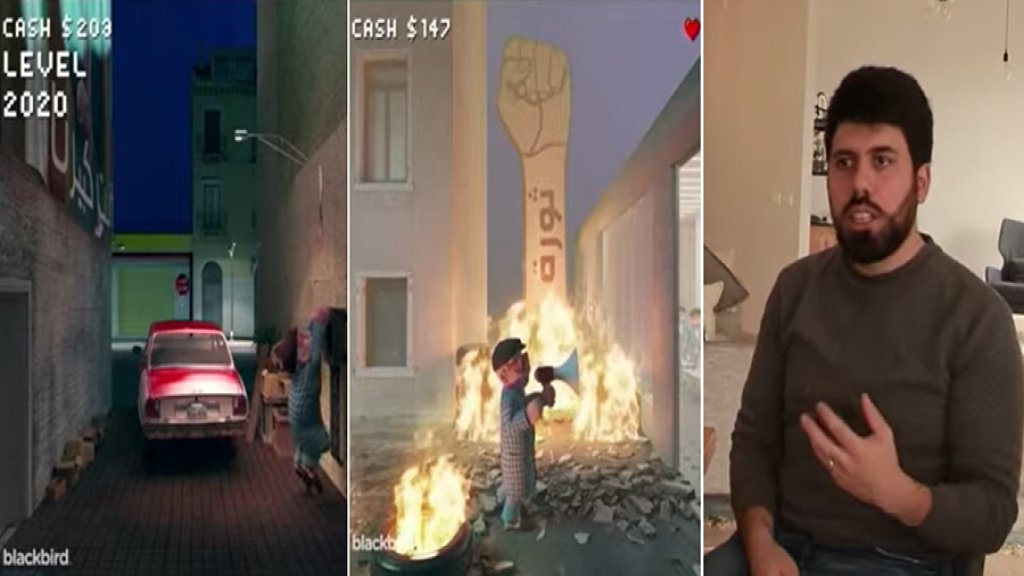 """""""سوبر ماريو"""" اللبناني...رسوم متحركة تجسد ما مر به اللبنانيون من أحداث بدقيقة واحدة من الإحتجاجات إلى الكورونا!"""
