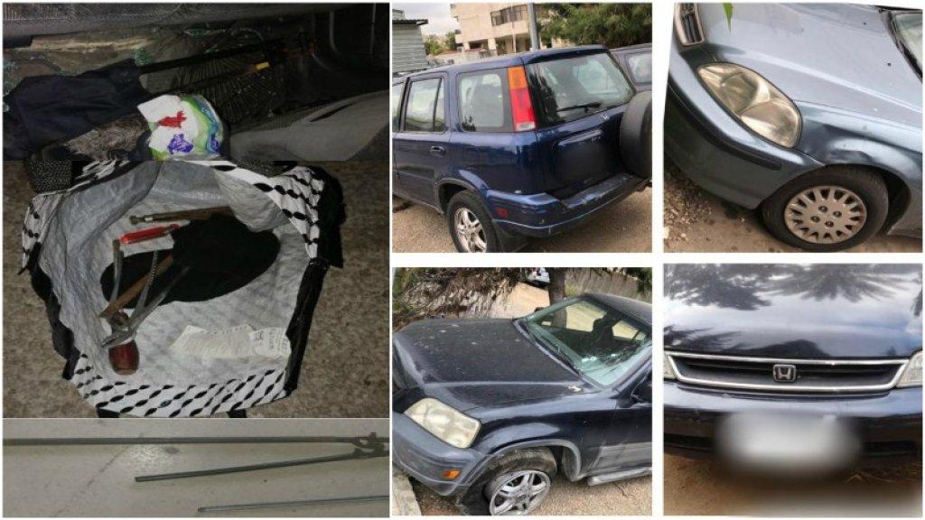 """عملية نوعية لـ """"المعلومات"""" في الضاحية....توقيف أحد أفراد عصابة سرقة وسطو مسلح استهدفت عدة محلات تجارية في جونية وضبط أربع سيارات مسروقة!"""