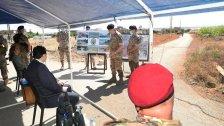 بالصور/ جولة دياب وعكر على وحدات الجيش اللبناني المنتشرة على الحدود الشرقية وقائد الجيش: لن نسمح لأي كان العبث بالأمن وزعزعة الاستقرار وسنتجاوز المخاطر
