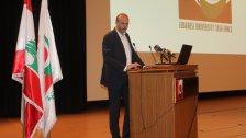 """وزير الصحة خلال اطلاق الجامعة اللبنانية """"وحدة التدخل لمعالجة الأزمات"""": بتنا أمام مرحلة جديدة تحتاج ذراعاً تنفيذية والجامعة اللبنانية قادرة على تحقيق ذلك"""