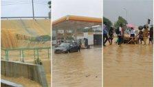 بالصور/ أمطار غزيرة تتسبب بفيضانات كبيرة في أبيدجان بساحل العاج ومصرع 5 أشخاص وفقدان سادس