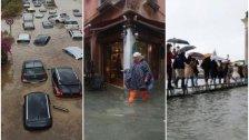 بالفيديو والصور/ فيضانات عنيفة تجتاح ايطاليا