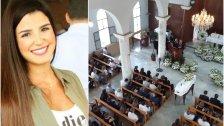 """صربا الجنوبية شيعت ابنتها الشهيدة نيكول مجيد الحلو...""""عروسة السلام"""""""
