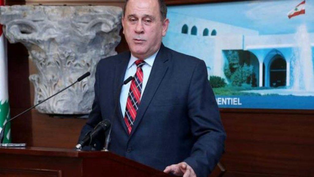 الوزير عماد حب الله بعد الاجتماع الوزراي في السراي: الحكومة صامدة