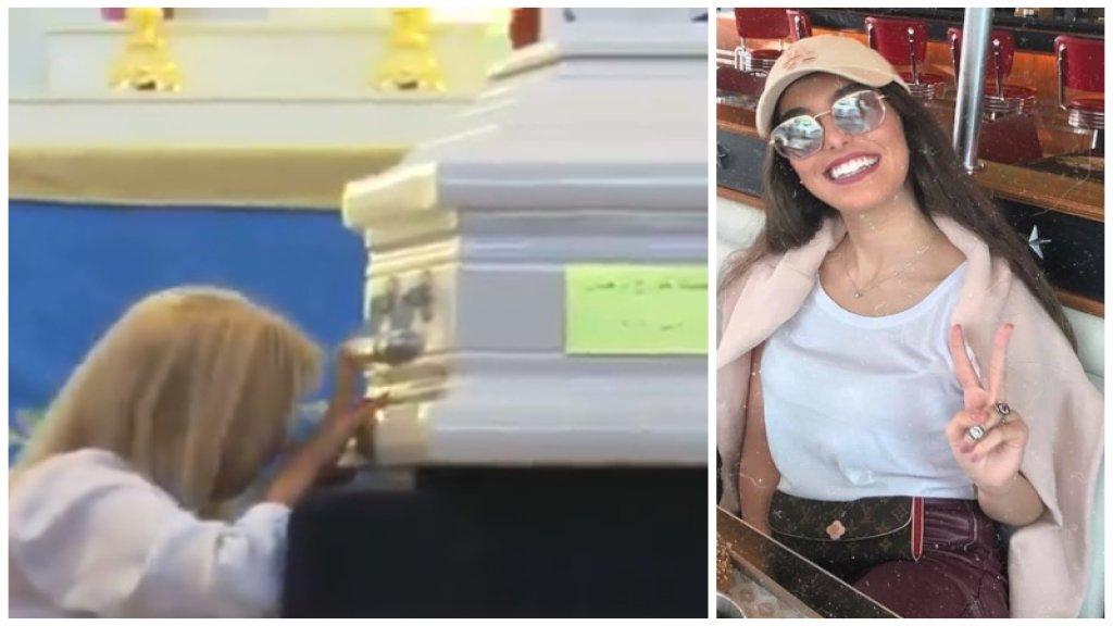 رفضت العائلة أن يكون وداعها مأتماً حزيناً..تشييع بالأبيض للممرضة  جيسيكا بيزجيان التي قضت بتفجير بيروت أثناء عملها في مسشتفى الروم