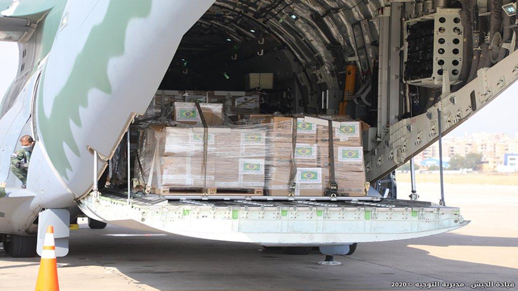 من البرازيل وقطر والكويت والهند...6 طائرات محملة بالمساعدات الغذائية والطبية وصلت لبنان خلال الساعات الماضية