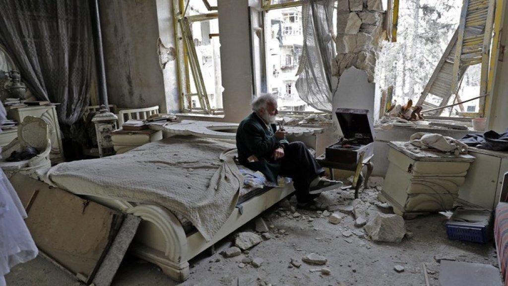 صورة متداولة على أنها من أحد أحياء بيروت بعد الكارثة والصحيح أنها التُقطت في حلب عام 2017 خلال الحرب