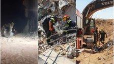 بالصور/ الدفاع المدني: عمليات البحث عن المفقودين اثر انفجار مرفأ بيروت لا زالت مستمرة لليوم الـ16 على التوالي
