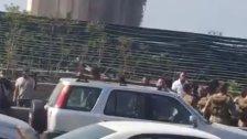 مظاهرة للتيار الوطني الحر من مرفأ بيروت تحت عنوان العدالة للمطالبة بكشف ملابسات انفجار مرفأ بيروت ومساندةً للمتضررين وأهالي الضحايا والشهداء