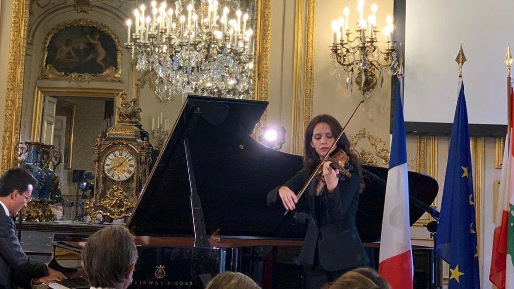 حفل موسيقي من أجل لبنان في مجلس الشيوخ الفرنسي