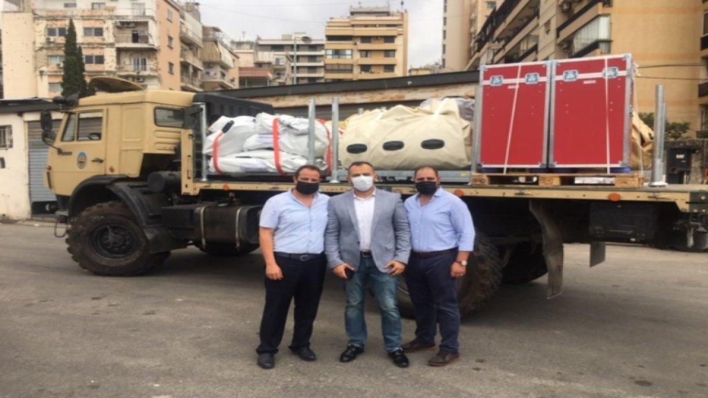 فيليبس فاونديشن: إنشاء مستشفى ميداني مكون من عشرين سرير لدعم لبنان خلال الظروف الاستثنائية