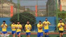 مباراة جمعت نادي النهضه عين بعال وفريق بنت جبيل في مهرجان الشهيد محمد الزين الرياضي