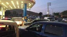 وصول كميات كبيرة من البنزين الى الهرمل تم توزيعها على عدد من المحطات