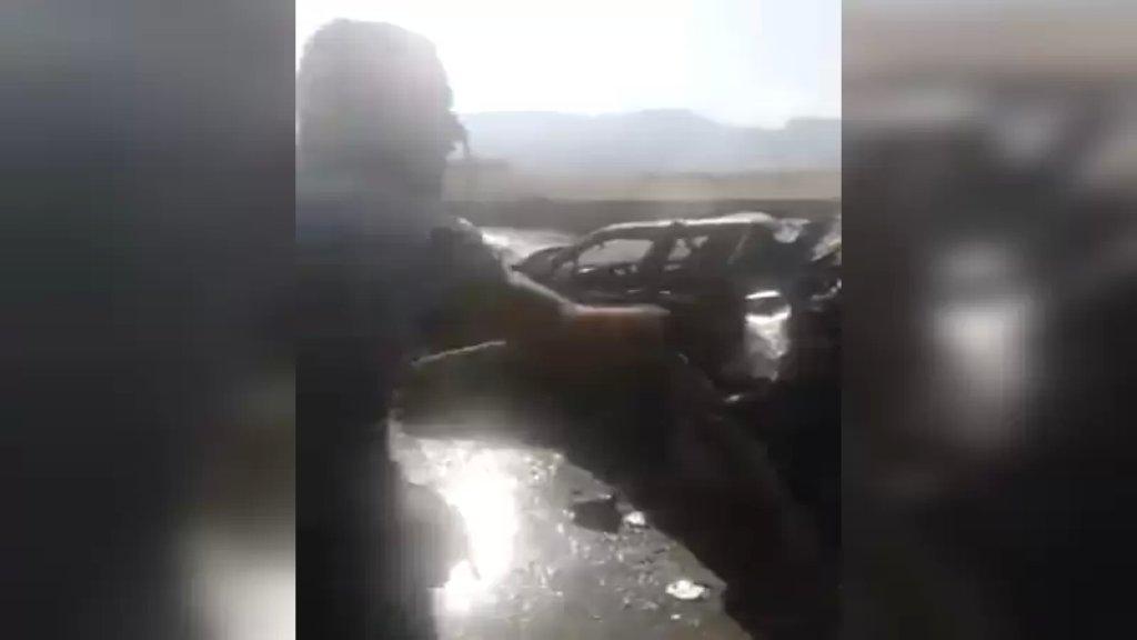 بالفيديو/ حادث سير مأساوي على مفرق البزالية