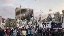 بالفيديو/ إطلاق بالونات بيضاء تحمل أسماء شهداء انفجار المرفأ لمناسبة مرور شهرين على الكارثة