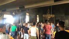 إندلاع حريق في كنيسة جديدة الجومة بسبب موقدة الشموع