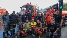 """عام خارق للإطفائيين وعمال الإنقاذ في بيروت من حرائق الغابات وصولا للانفجار...""""لم يمرّ علينا مثل هذه السنة"""""""