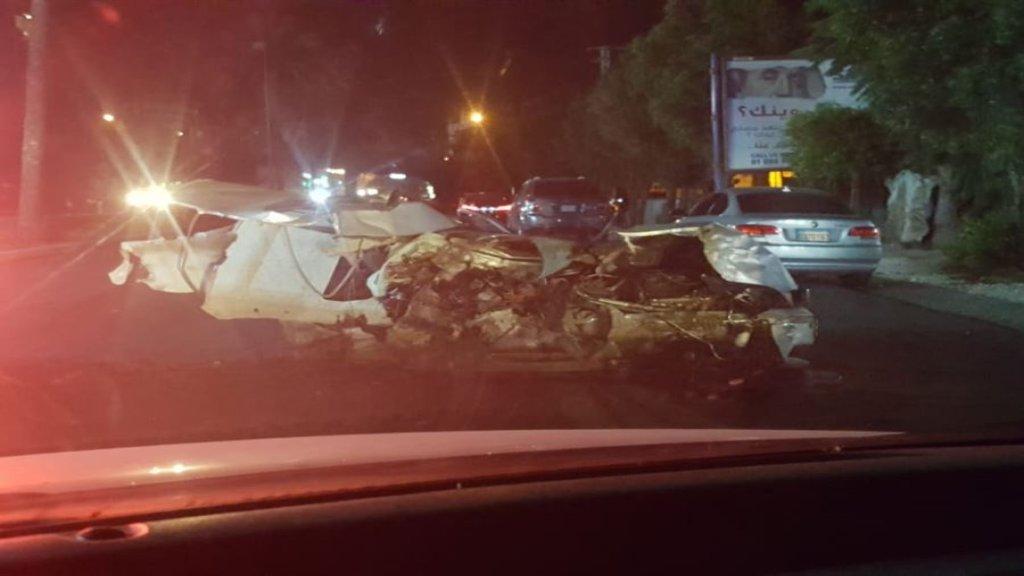 4 قتلى بحادث سير مروّع في جونية منتصف الليل