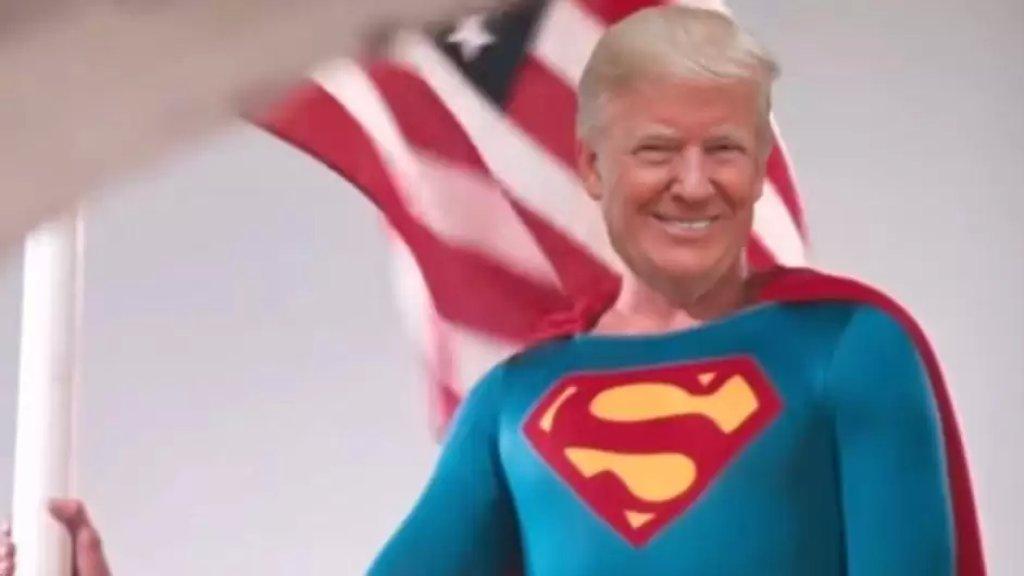 """نيويورك تايمز: ترامب خطط للظهور بقميص """"سوبرمان"""" لحظة خروجه من المستشفى"""