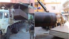 بالصور/ أكثر من 20 ألف ليتر من البنزين كانت ستُهرّب من خلال الضخ الى خارج الاراضي اللبنانية في منطقة البقيعة - وادي خالد والجيش يُحبط العملية