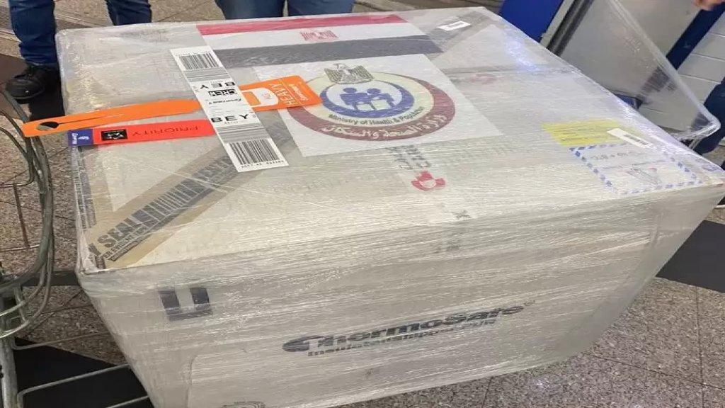 500 جرعة من عقار ريميديسيفير و50 طناً من الدقيق مقدّمة من مصر إلى لبنان