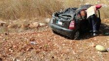 حادث مروع ينهي حياة سيدة على طريق محمية وادي الحجير.. إنقلبت بها السيارة