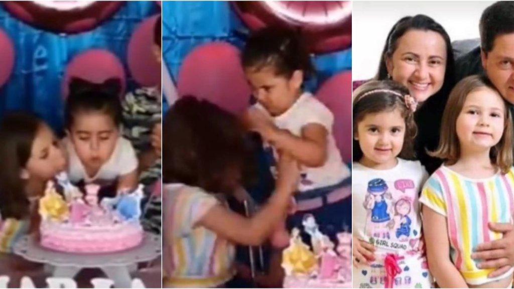 فيديو طفلتي عيد الميلاد يجتاح مواقع التواصل: تبين أنهما شقيقتين والفيديو إلتقط في البرازيل