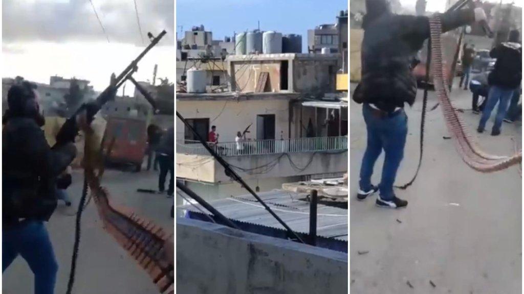 مشاهد مخيفة لإطلاق النار في طرابلس...سقوط 6 جرحى والجيش يلقي القبض على اثنين من المسحلين