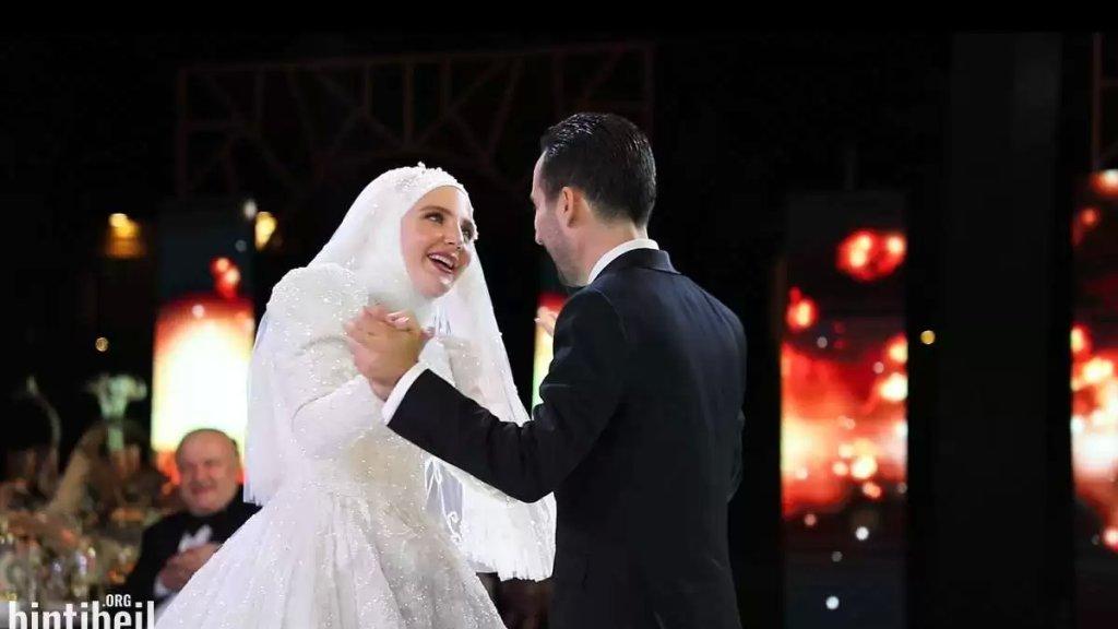 بالصور والفيديو/ زفاف العروسين علي سعد وقمر شعلان في لبنان وسط مشاركة الأهل من مغتربين ومقيمين