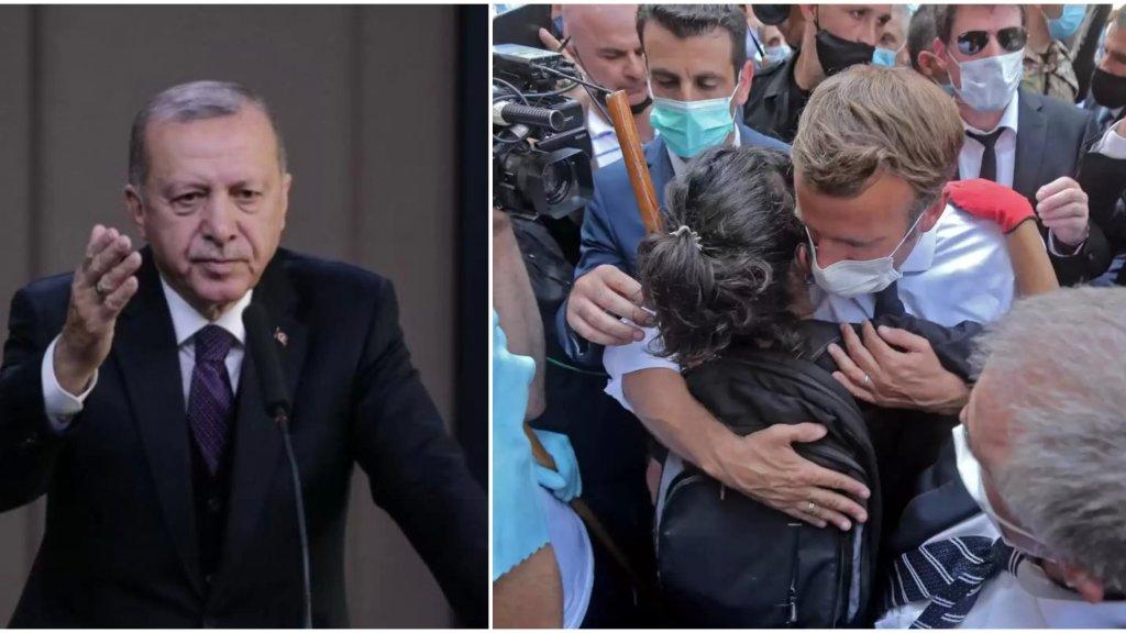 أردوغان: ماكرون ذهب إلى لبنان ولكنه لم يجد ما كان يبحث عنه بل طردوه من هناك