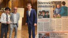 طفل مصري فاز بلقب شخصية العام في النمسا بعدما أطلق مبادرة إنسانية وأمن متطلبات المئات من المسنين في ظل كورونا