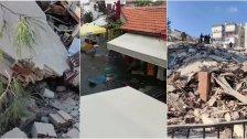 بالصور والفيديو/ زلزال قوي يضرب ولاية إزمير التركية... المعلومات تفيد عن إنهيار 6 مبان في منطقتي بيراكلي وبورنوفا