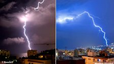 شاهد.. هدير الرعد فجراً «يوهل» اللبنانيين.. وهذا ما غردوا به على مواقع التواصل: «اعصابنا تلفت و ما عدنا عم نمَيز شي من شي»
