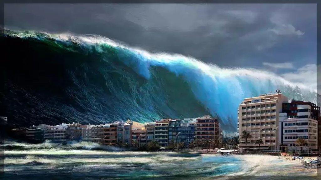 نظام الانذار المبكر يضع سواحل لبنان وسوريا من ضمن مواقع خطر تسونامي
