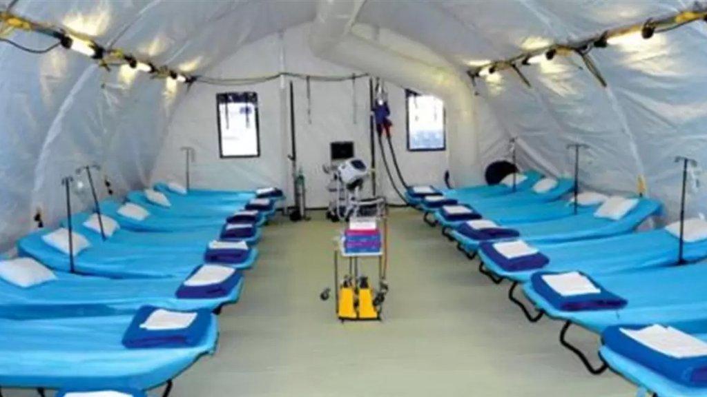 قطر ستقدم مستشفيين ميدانيين الأول لمنطقة صور سعته 500 سرير وآخر لمنطقة الشمال - طرابلس سعته أيضاً 500  سرير