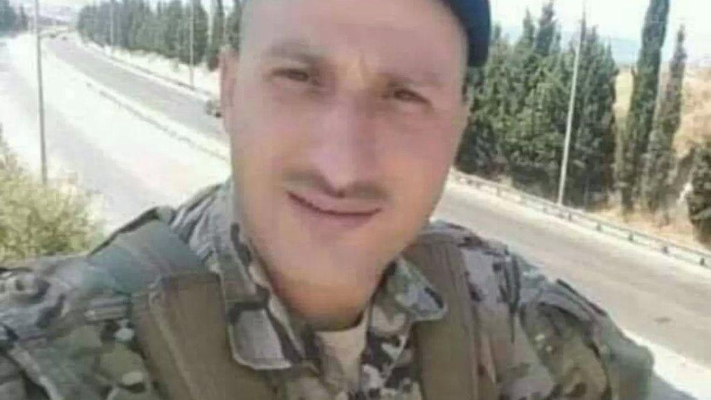 """العسكري في الجيش اللبناني""""احمد صفطلي"""" توفي متأثرا بجراحه.. تعرض لحادث على اوتوستراد البالما منذ حوالي الاسبوعين"""