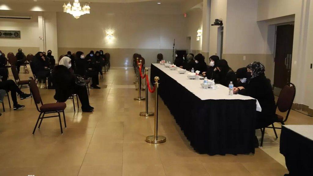 تقبل العزاء ومجلس فاتحة عن روح المرحوم الوزير نزيه حبيب بيضون في المركز الاسلامي في مدينة ديربورن- ميشيغان