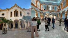 بالصور/ كنيس يهودي في بيروت افتتح أمس بصمت..بعد ترميمه بأموال لبنانية