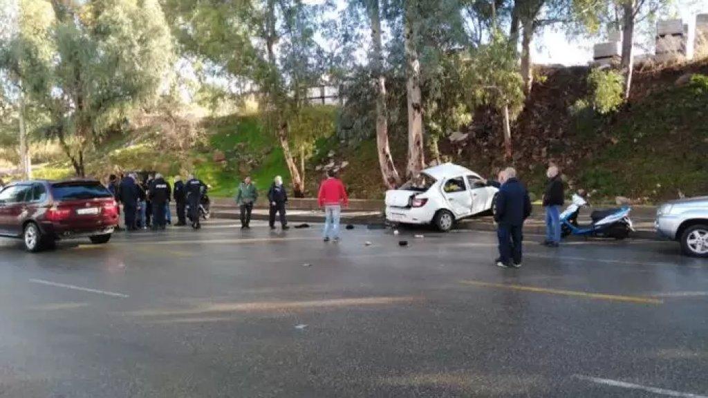 السجناء القتلى في حادث السير لبنانيين و3 سوريين