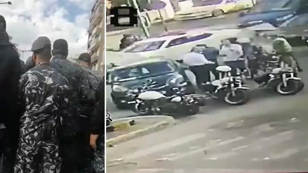 قوى الأمن تنشر فيديو وتوضح تفاصيل الإشكال مع أحد المُحامين المتدرّجين في بيروت